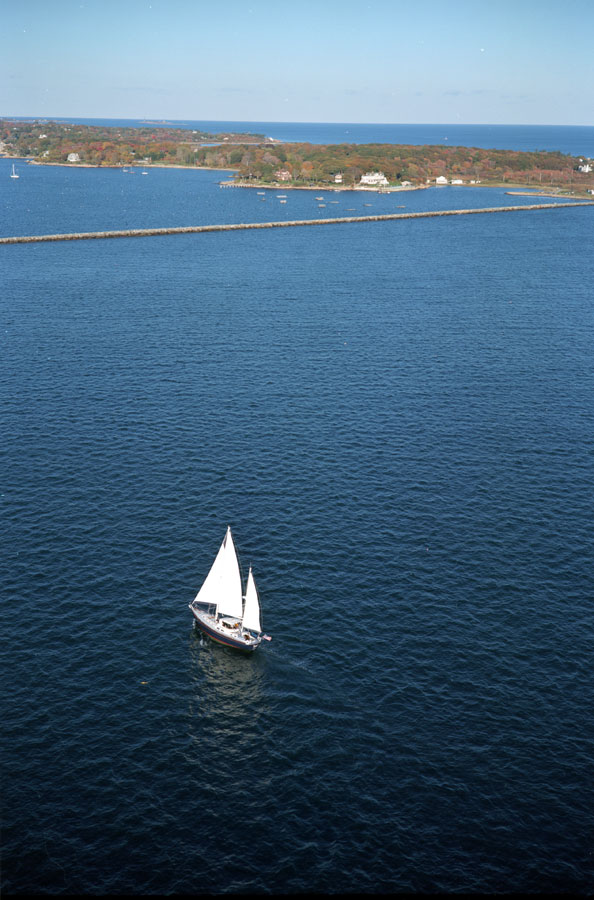 sailing by Eastern Point - local info page