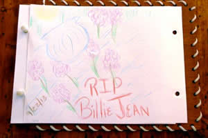Drawing for Billy Jean