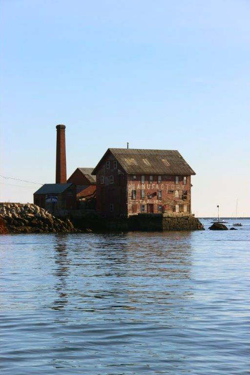 Gloucester Harbor Paint Factory